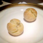 Next Paris Menu 1906 - puff pastry filled with mornay sauce