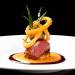 Next Escoffier Paris Menu - Carre dAgneau lamb loin