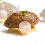 Escoffier rillette of pig head