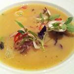 Next Tour of Thailand Thai menu hot and sour soup