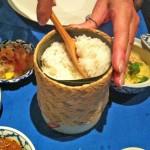 Next Tour of Thailand Thai menu steamed rice